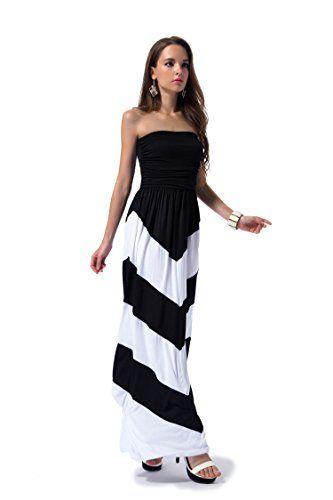 0ca1062227d3 Charm Your Prince Women s Sleeveless Summer Chevron Empire ZigZag Floral  Maxi Dress