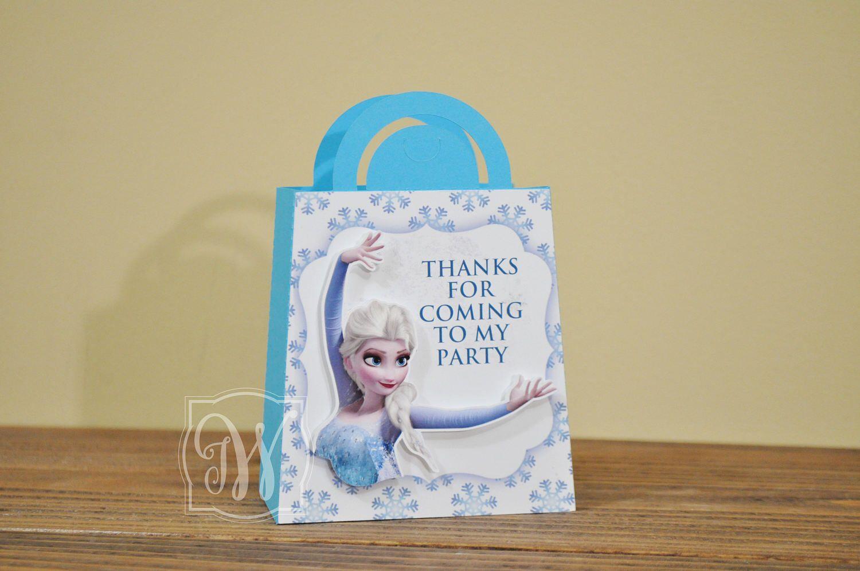 Frozen Favor bags, Elsa party bags, Frozen inspired favor bags, Frozen birthday, Frozen celebrations, Frozen favor box, Frozen party, Ct. 12 by IWHandCraftedDesigns on Etsy https://www.etsy.com/listing/505634718/frozen-favor-bags-elsa-party-bags-frozen