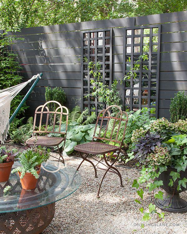 Diy Mirrored Trellis Mit Bildern Gartenspiegel Cottage Garten