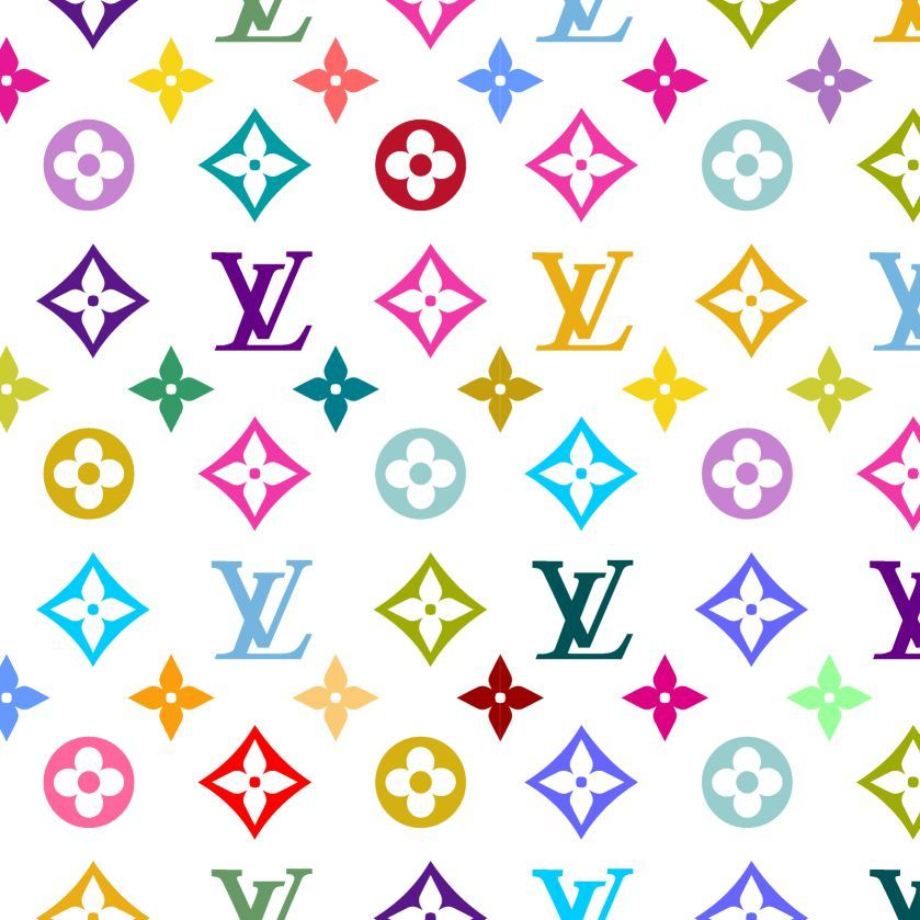 colorful louis vuitton pattern Google Search (With