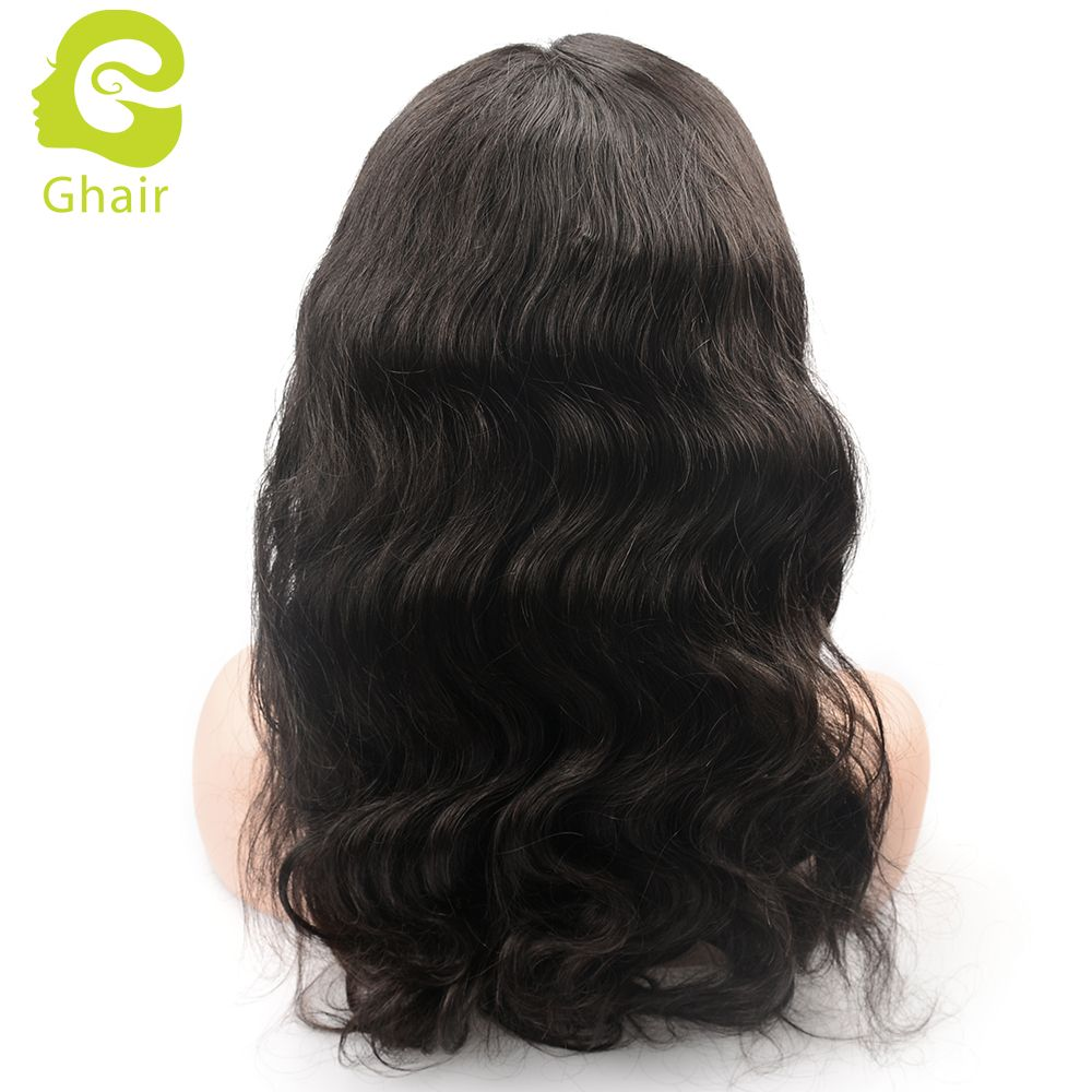 Plucked 360 Lace Frontal Wig Straight Virgin Human Hair Glueless