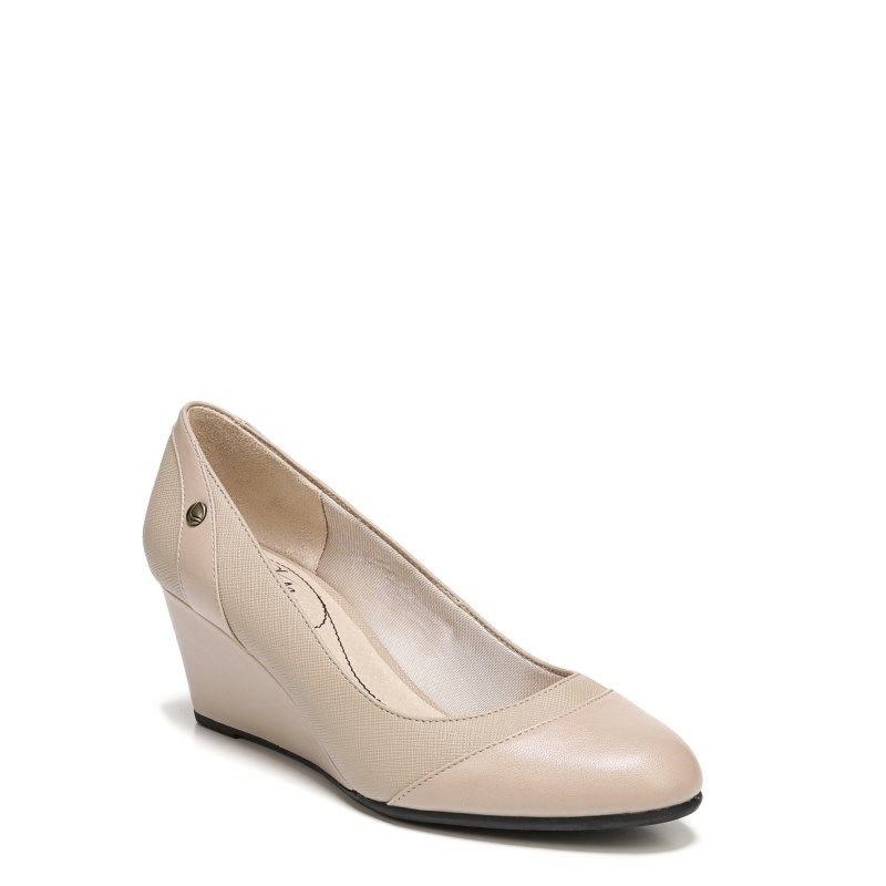 6cc7442f3243 Lifestride Women s Dreams Wedge Shoes (Tender Taupe)