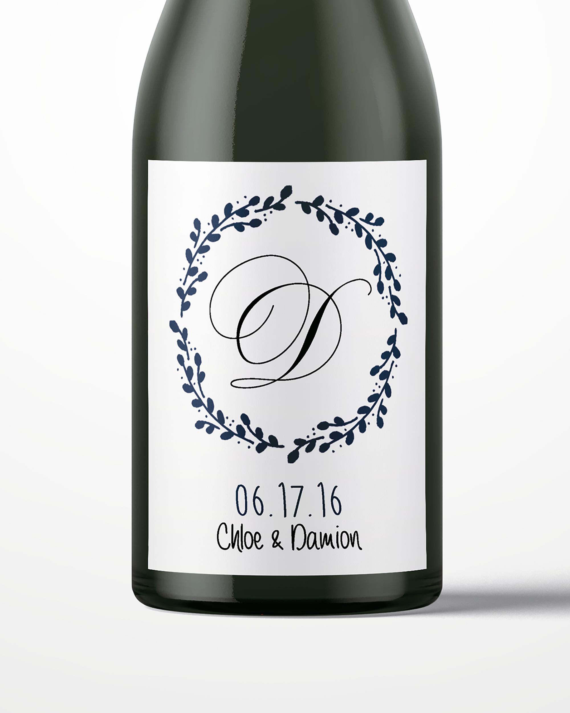 Wine Labels Monogrammed Wine Bottles Wine Bottle Wine Bottle Labels