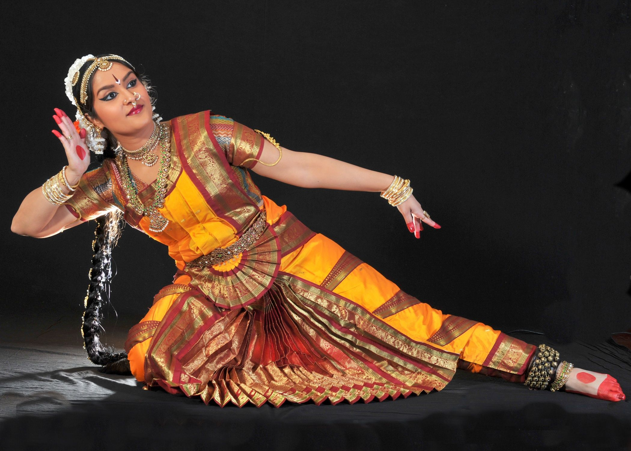 Bharatanatyam is a reworked danceform from the
