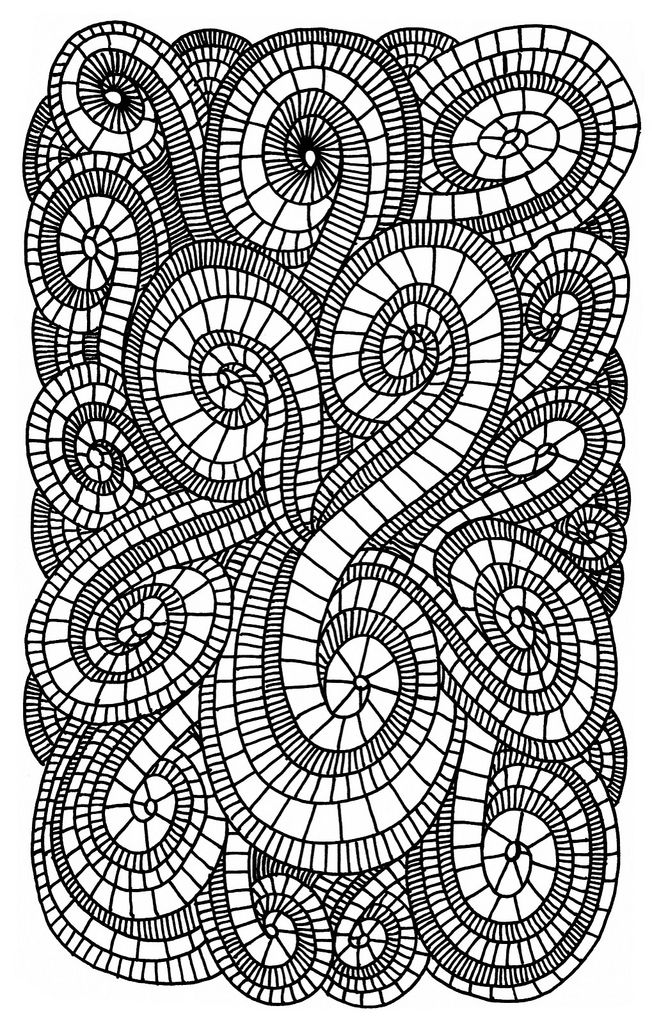 swirls coloring pages