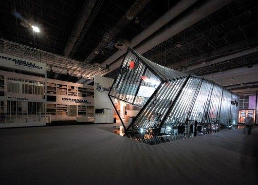 Expo Stands Mexico : Usg stands expo cihac archdaily méxico