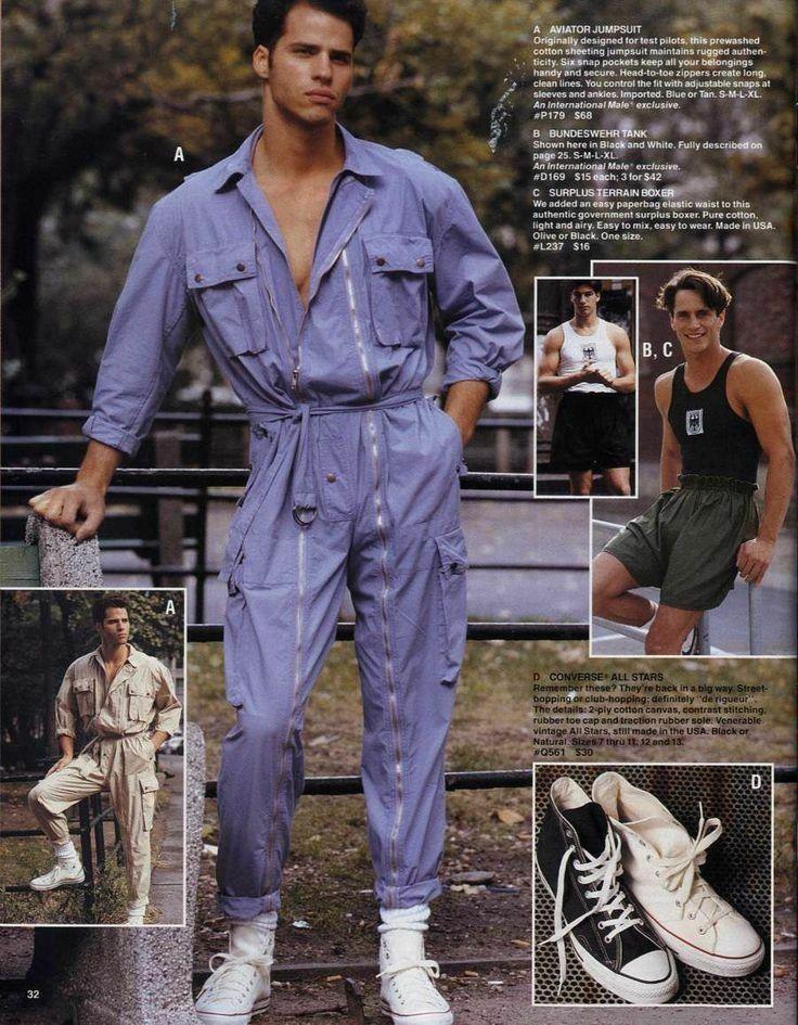 90 S Overalls Are Legit 80s Fashion Men Dad Fashion Vintage Mens Fashion