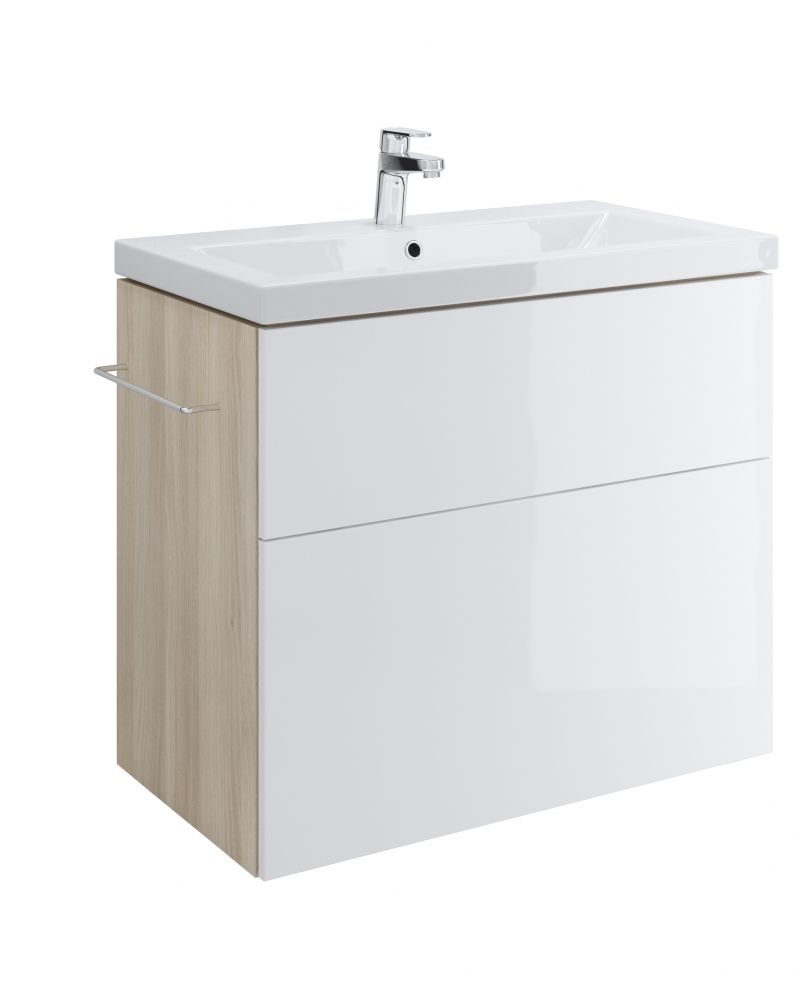 Cersanit Smart mosdótartó szekrény, fehér (mosdó nélkül) S568-020 ...
