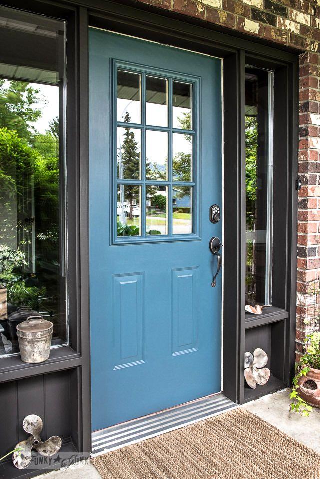 Industrial Front Door Redo With Painting Tips Diy All