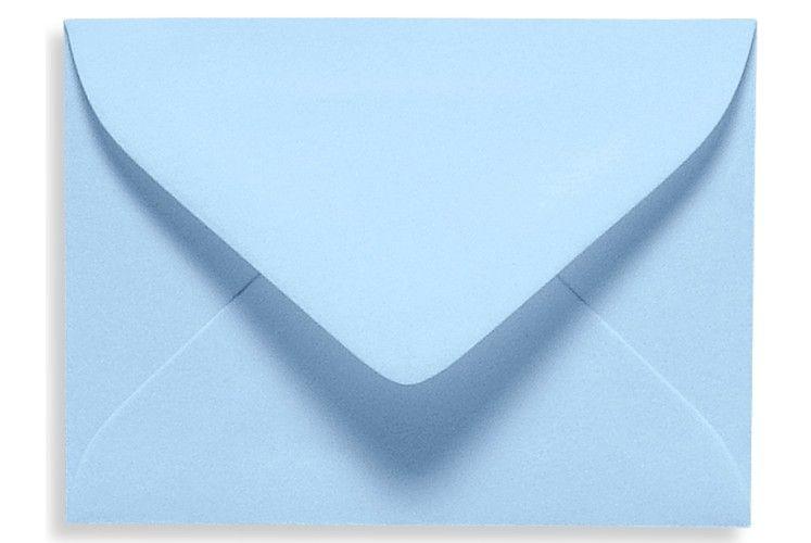 17 mini envelope 2 11 16 x 3 11 16 baby blue envelopes