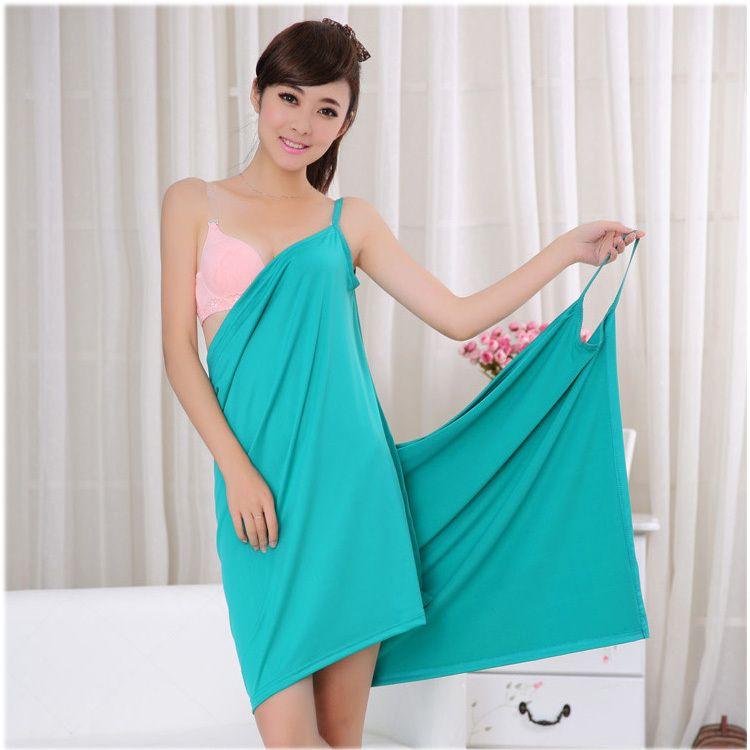 a697375298 Sexy towel bath wrap with straps | Rainbow Towel | Bath Wraps ...