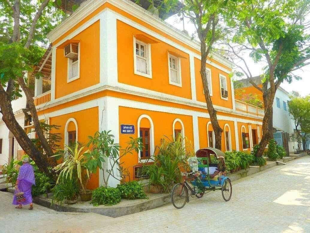 Patricia Guest Houses Top Heritage Hotel In Pondicherry