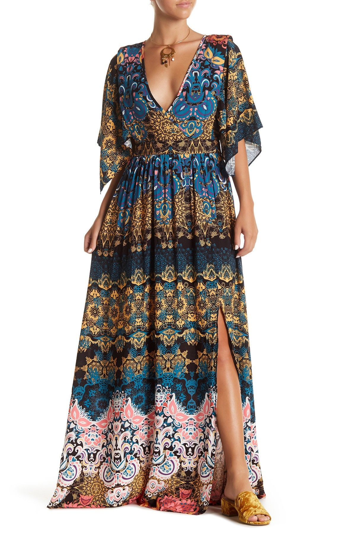 Print maxi dress products