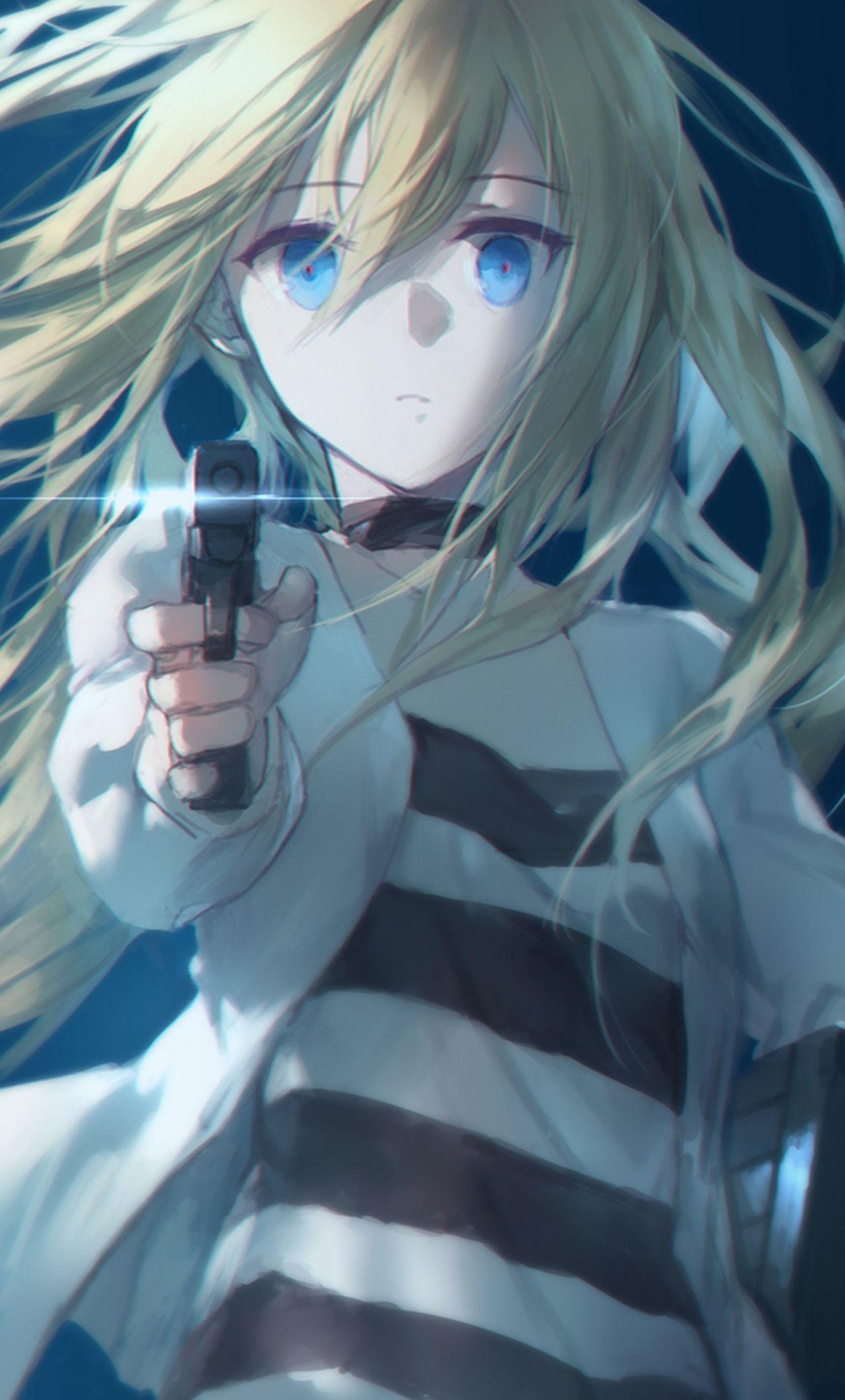 Satsuriku no Tenshi, Rachel Gardner, angel of death, anime girl wallpaper  -  #angel #Anime #animeangel #DEATH #Gardner #Girl #Rachel #Satsuriku #Tenshi #wallpaper