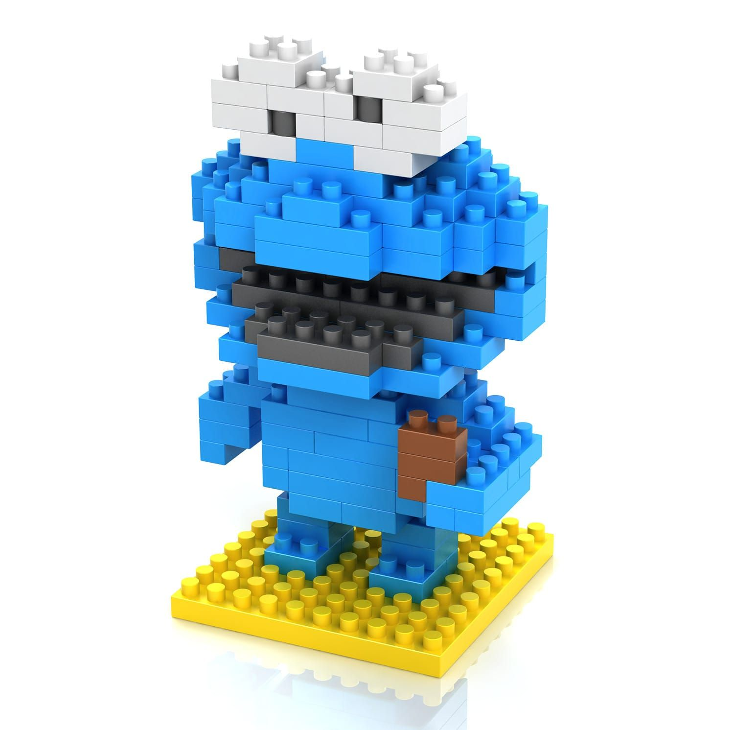 LOZ Cookie Monster Building Blocks Price $4 95 & FREE Shipping