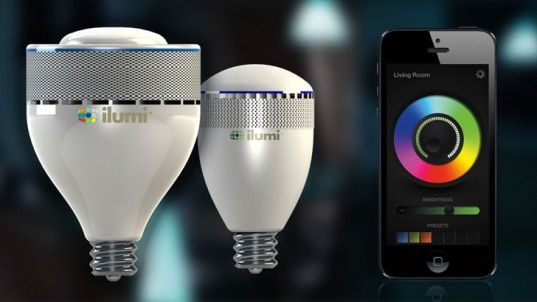 Super Efficient Ilumi Led Bulb Lasts For 20 Years And Can Be Controlled With A Smartphone Smart Light Bulbs Smart Lighting Led Bulb