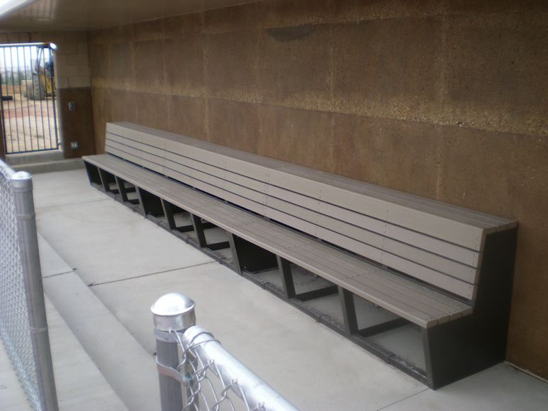 Fine Dugout Bench Baseball Dugout Diy Bench Bench Ocoug Best Dining Table And Chair Ideas Images Ocougorg