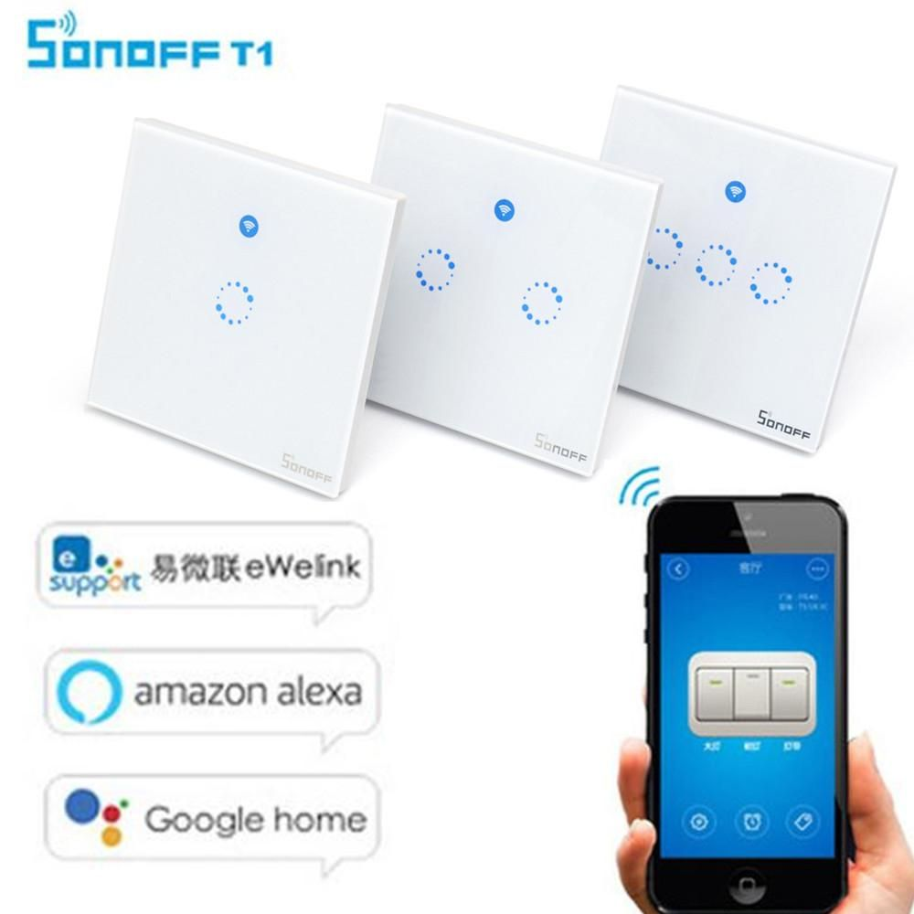 Sonoff T1 UK / EU WiFi RF / APP / Touch Control smart Wall