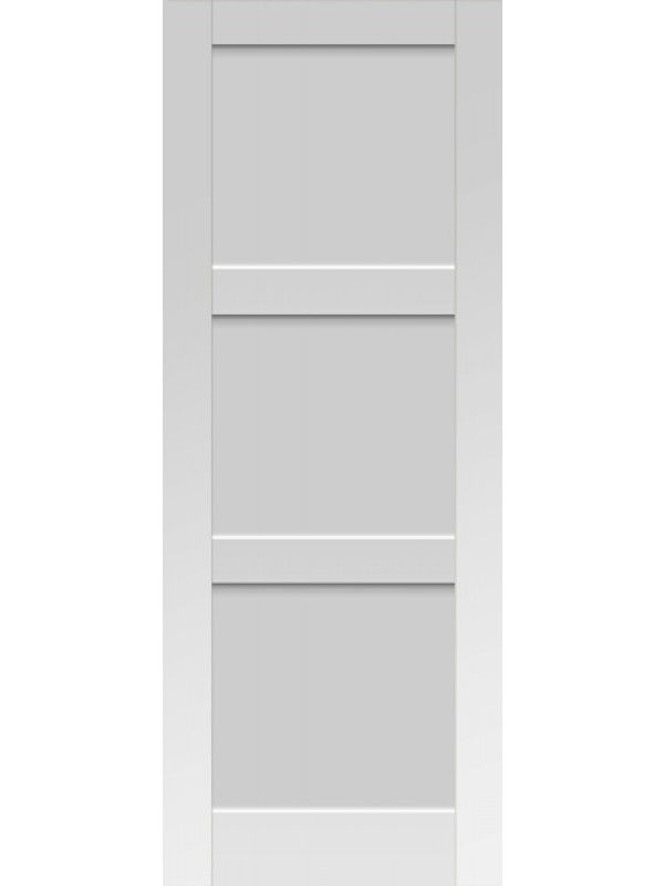 3 Panel Solid Shaker Style White Interior Single Door Sh 18 In 2018
