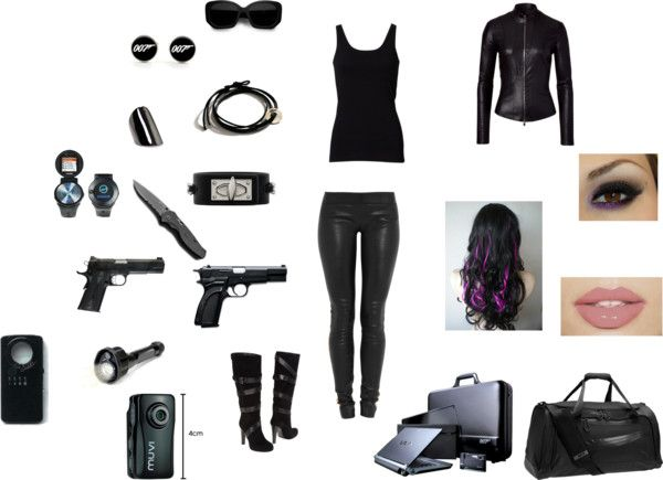 Teen spy outfits and gadgets