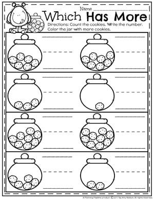 Comparing Numbers Worksheets With Images