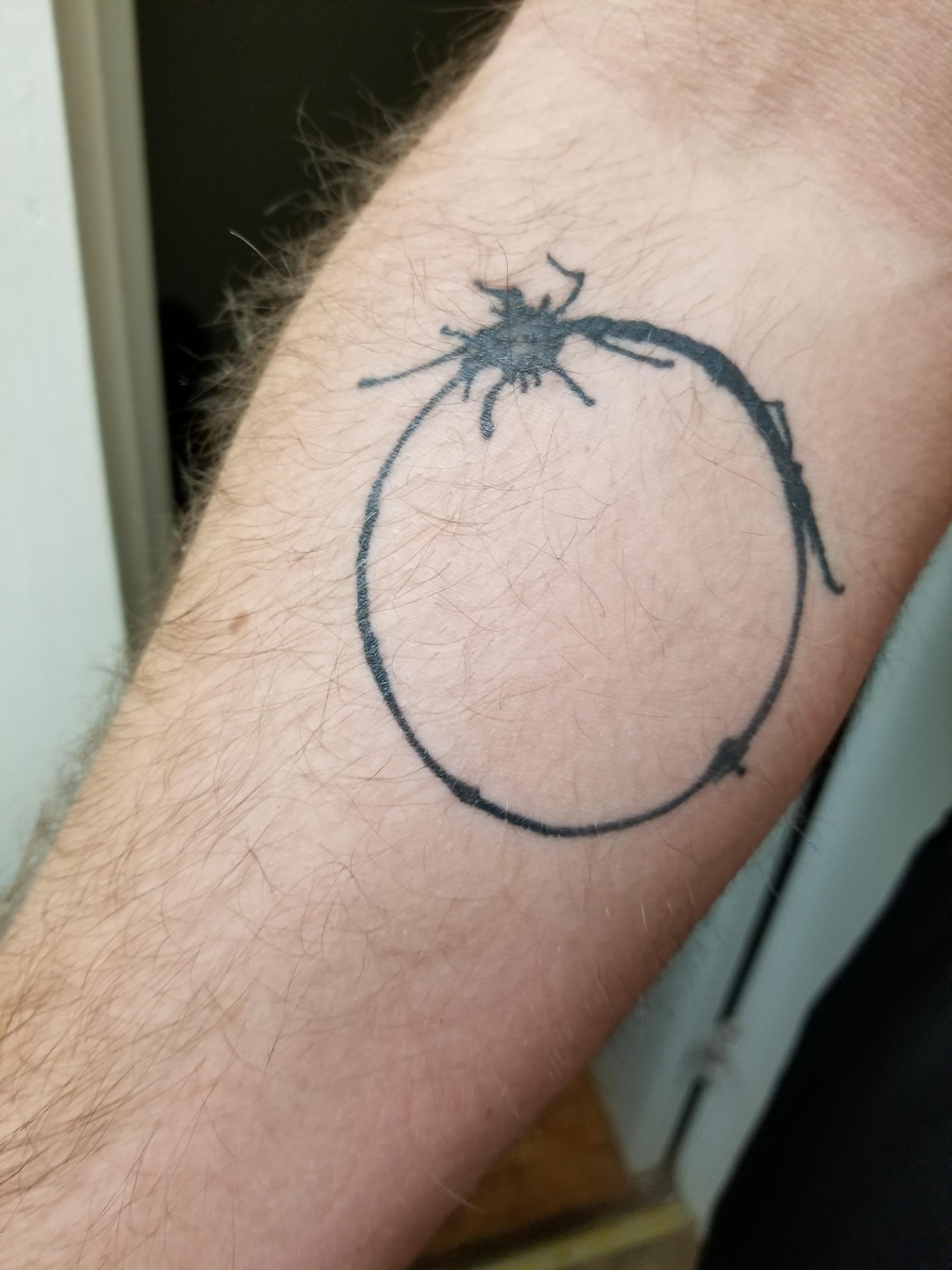 """The actual symbol for """"Human"""" from Arrival. Done by David"""