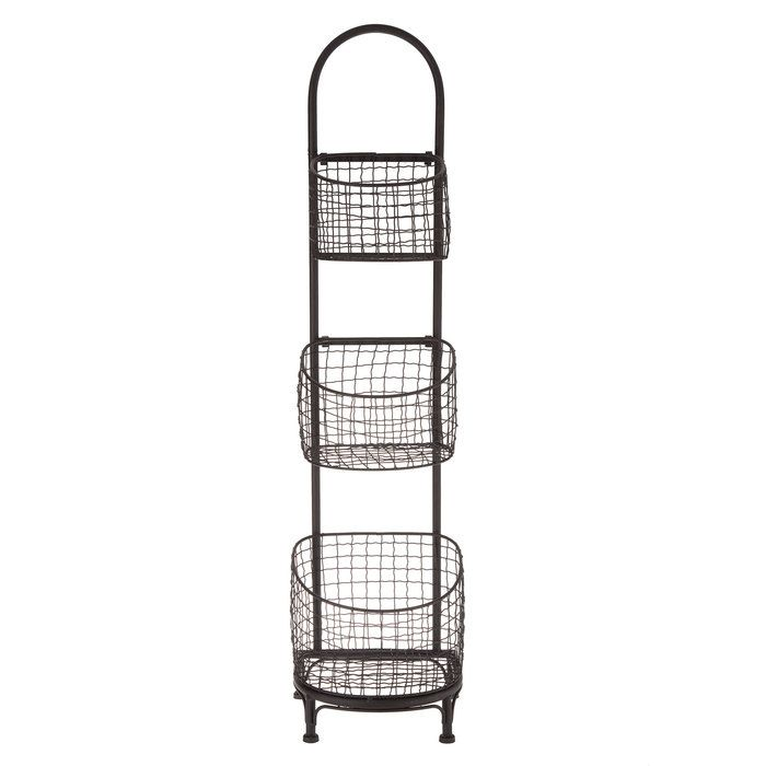 Black Three Tiered Wire Basket Stand Hobby Lobby 1334945 Kitchen Decor Hobby Lobby White Kitchen Decor Hobby Lobby