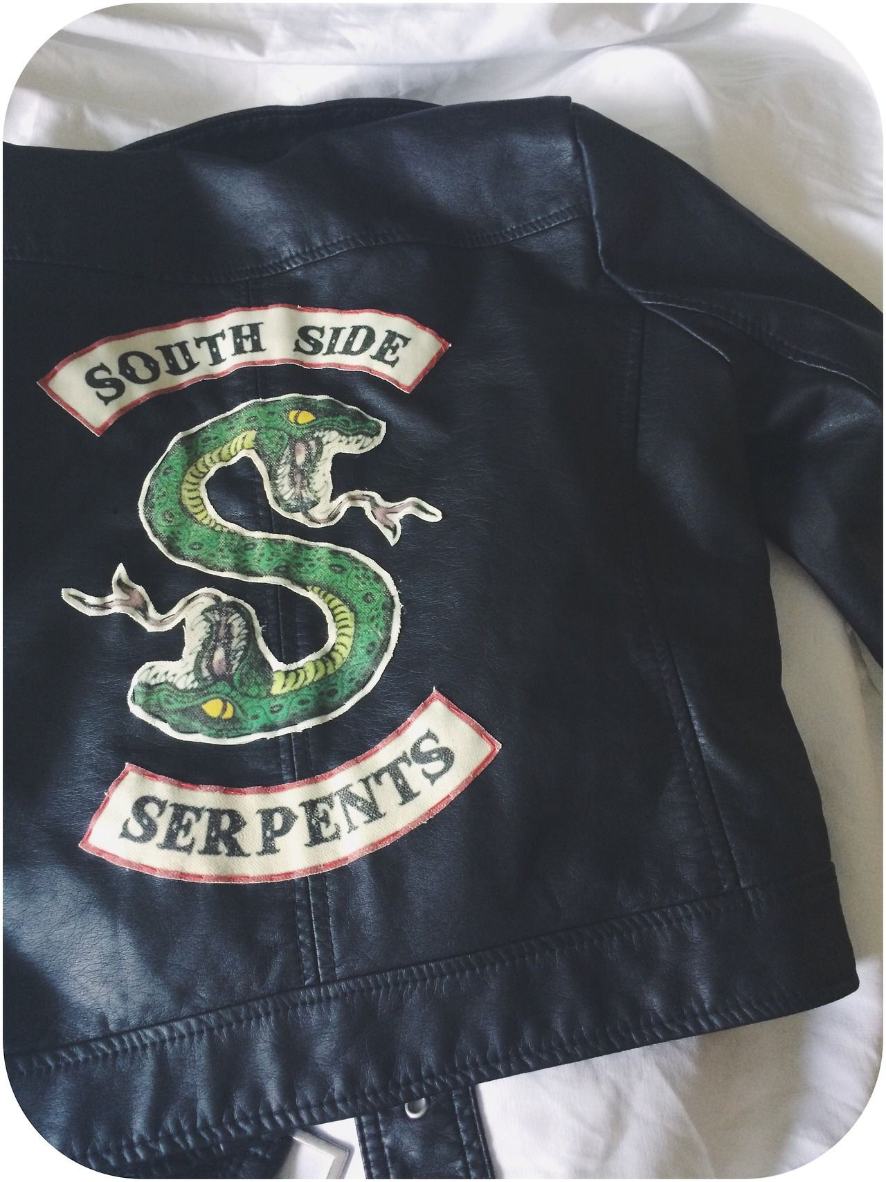 Jughead S South Side Serpents Jacket Made By Betty Felon