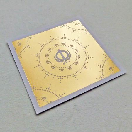 Vaisakhi golden postcard