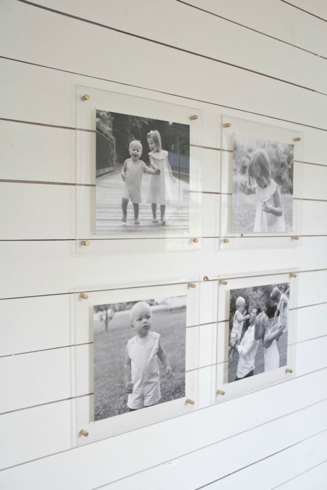 Amazing Acrylic Frames: 10 Examples that Will Convince You to Float Your Art | Apartment Therapy