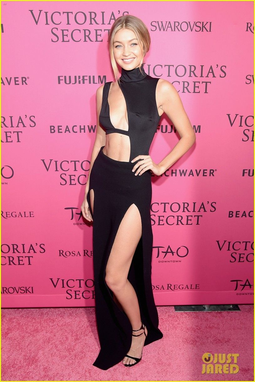 Kendall Jenner & Gigi Hadid Celebrate at VS After Party with Selena ...