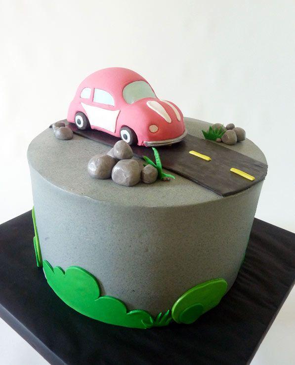 Fun Car Cakes on Craftsy Cake Car cakes and Birthday cakes