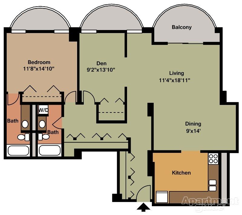 The Point At Pentagon City Pentagon City Apartment Apartment Plans