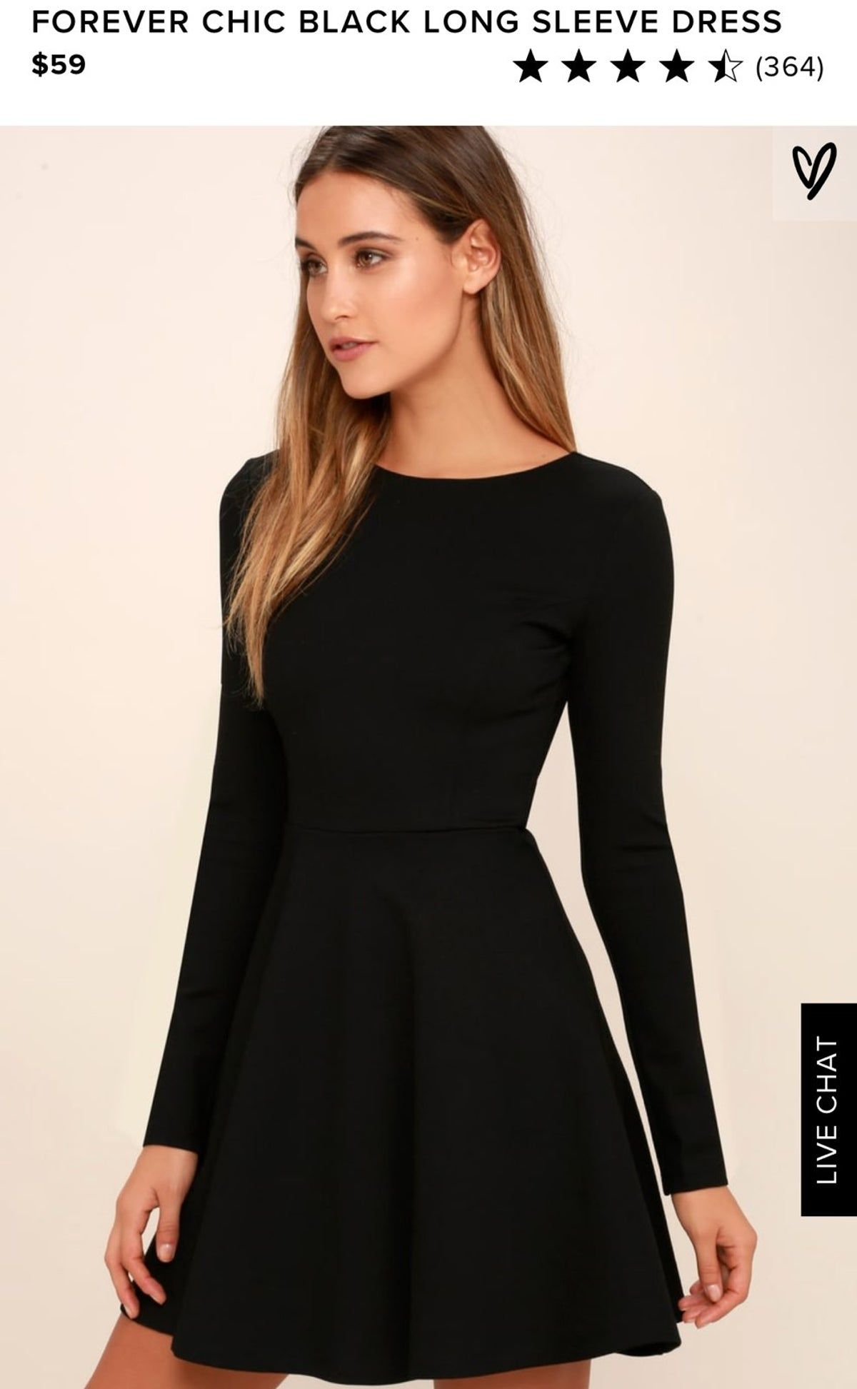 Lulus Black Costume Lengthy