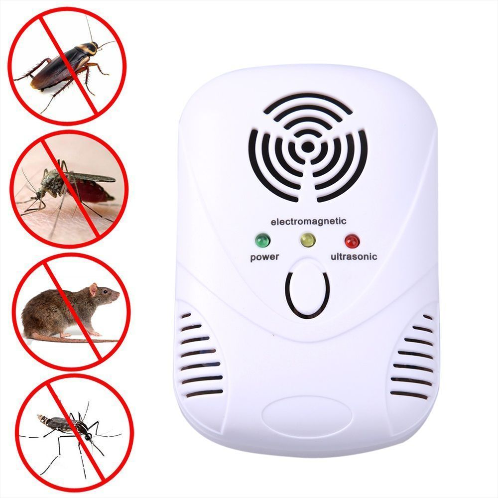 Sensor & Detector Security Alarm Hearty High Quality Ultrasonic Electronic Pest Repeller Indoor For Lustrating Mouse Bug Mosquito Insect