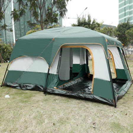 lowest price clearance! 8 person 3 room family cabin tent, outdoorlowest price clearance! 8 person 3 room family cabin tent, outdoor camping hiking tent with rainfly shelter 14\u0027 x 10\u0027 x 7\u0027 logcabinhomes