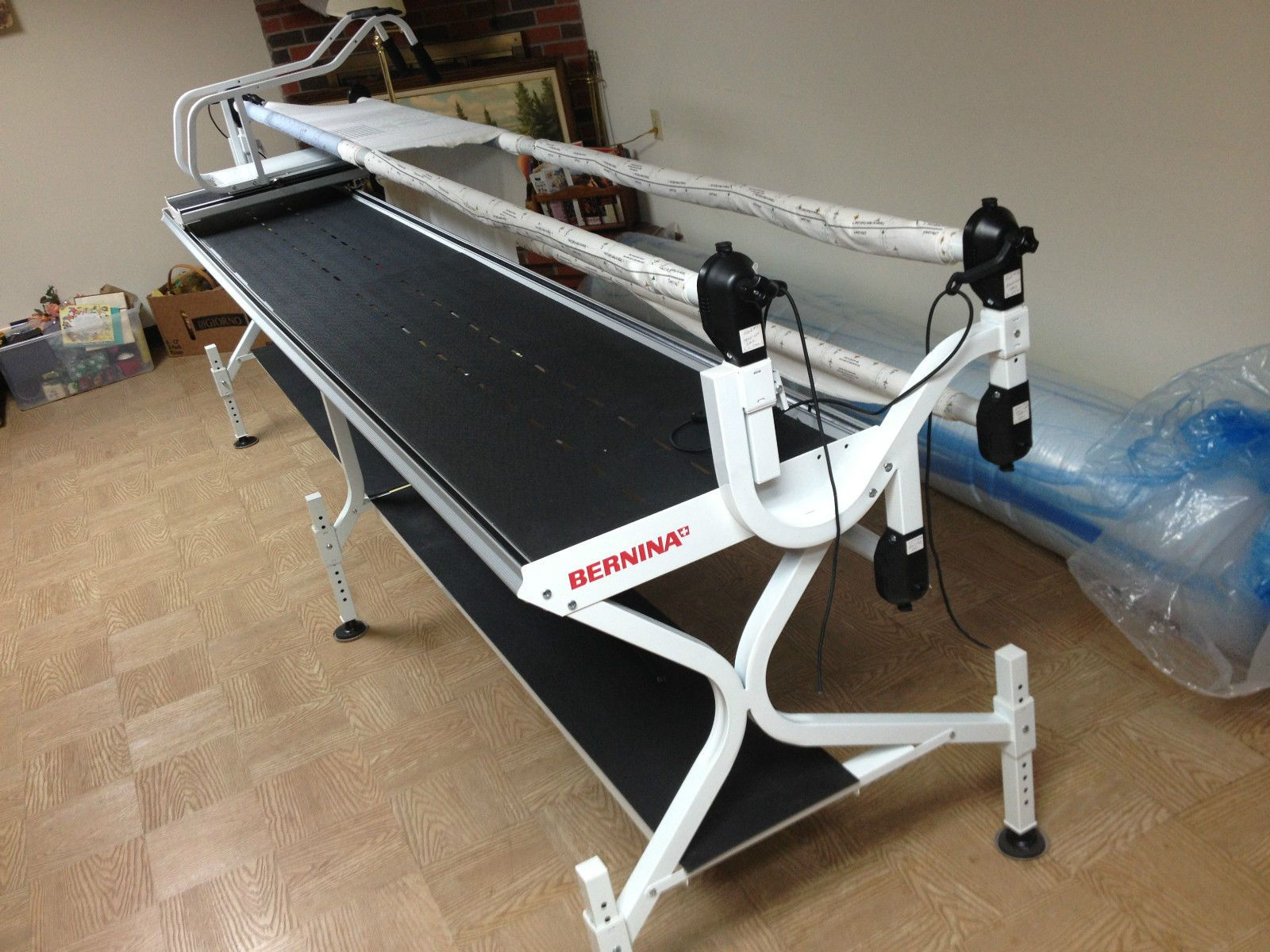 Bernina Crib to King Size Machine Quilting Frame Grace Speed Control ...