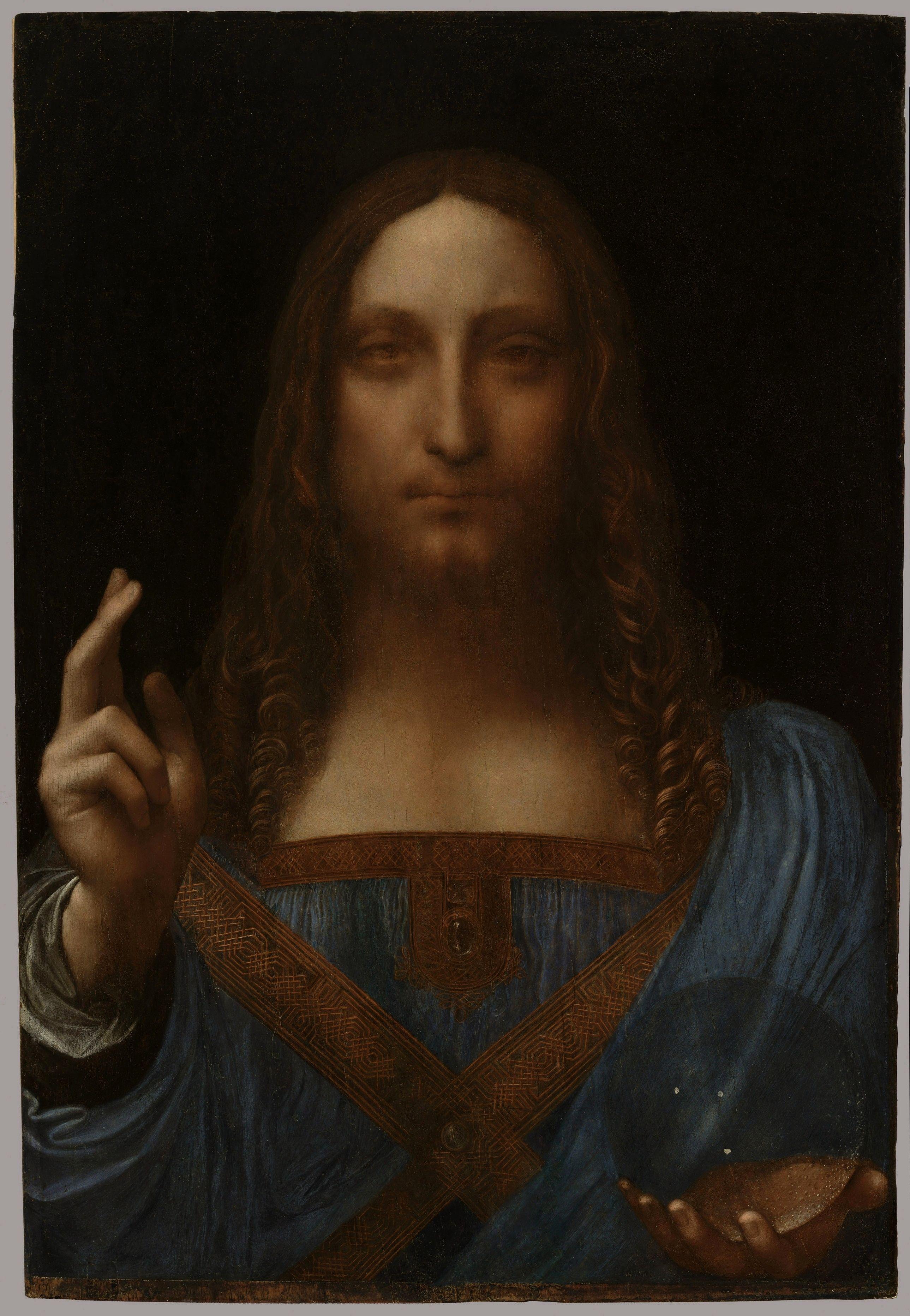 Leonrdo Da Vinci Salvator Mundi High Resolution Jpg 2578 3728 Leonardo Da Vinci Mercado De Arte Obras De Arte