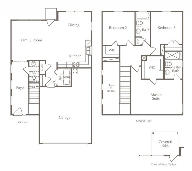Downtown Austin New Homes For Sale Milestone Builder Open Concept Floor Plans Floor Plans New House Plans