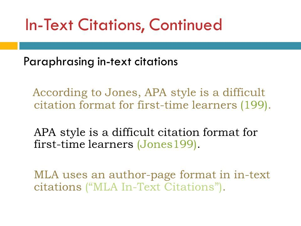 Mla Paraphrasing In Text Stadralring1 Blog Be An Example Quote Citation Paraphrase How To And Cite Apa