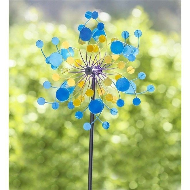 Windmills and Wind Spinners 115772 Metal Wind Spinner For The