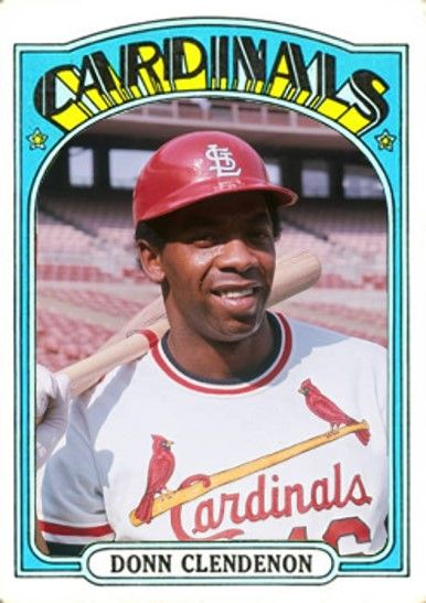 Donn Clendenon St Louis Cardinals My Custom Baseball Cards