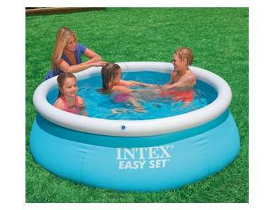 Intex 6ft X 20in Easy Set Inflatable Outdoor Kids Swimming Pool Easy Set Pools Inflatable Swimming Pool Children Swimming Pool
