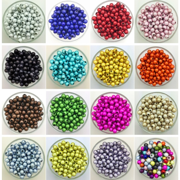 """loose Vintage 3 x 6 mm Simulated White Oat Iridescent Pearl beads 60/"""""""