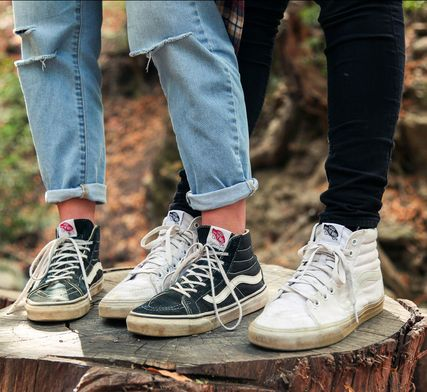 vans sk8 hi slim vs regular