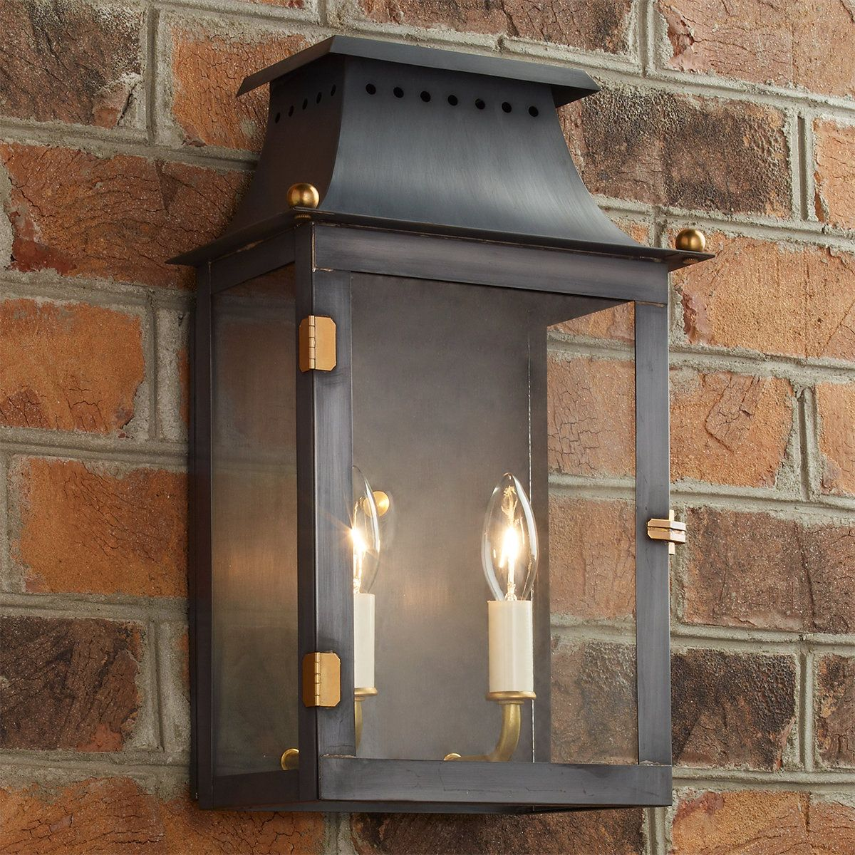 Franklin Outdoor Wall Light In 2020 Outdoor Wall Lighting Wall Lights Outdoor Hanging Lanterns