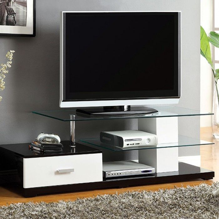 Furniture Of America Agrini Carino Two Tone Tv Stand Tv Stands
