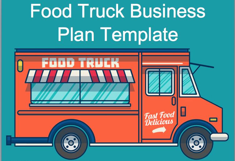 Food Truck Business Plan Template Food Truck Business Plan Food Truck Business Food Truck