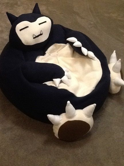 Snorlax full size bean bag chair Must Have Geek stuff, Pokémon