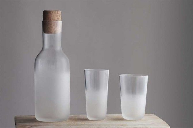 Frost glass series for STELTON by Front